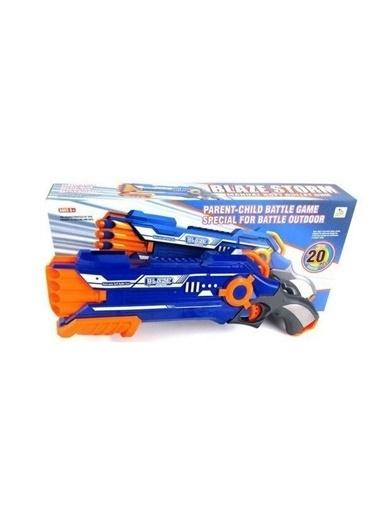 Vardem Vardem Blaze Storm Nerf 8'li Yumuşak Mermili nca Oyuncak Tüfek Mavi